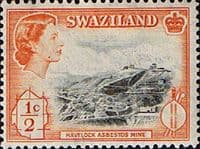 Swaziland 1961 SG 78 Havelock Mine Fine Mint