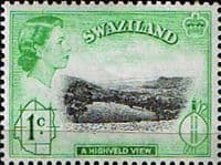 Swaziland 1961 SG 79 Highveld View Fine Mint