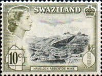 Swaziland 1961 SG 84 Havelock Asbestos Mine Fine Mint
