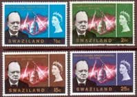 Swaziland 1966 Churchill Set Fine Used