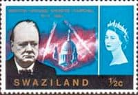 Swaziland 1966 Churchill SG 117 Fine Mint