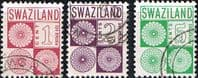 Swaziland Post Due 1971 Set Fine Used