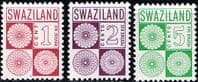 Swaziland Post Due 1977 Set Fine Mint