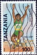 Tanzania 1990 Commonwealth Games SG 820 Fine Used
