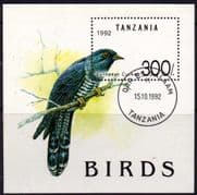 Tanzania 1992 Birds Miniature Sheet Fine Used
