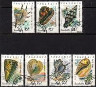 Tanzania 1992 Shells Set Fine Used