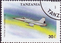 Tanzania 1993 Military Aircraft SG 1674 Fine Used