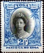 Tonga 1920 SG 59 Queen Salote Fine Mint