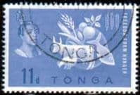Tonga 1963 Freedom From Hunger Fine Used