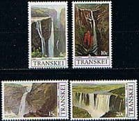 Transkei 1979 Waterfalls Set Fine Mint