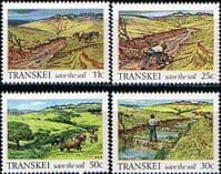Transkei 1985 Soil Conservation Set Fine Mint