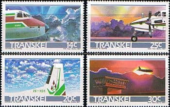 Transkei 1987 Transkei Airways Set Fine Mint