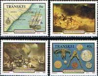 "Transkei 1988 Shipwreck of ""Grosvenor"" Set Fine Mint"