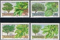 Transkei 1989 Trees Set Fine Mint
