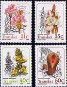 Transkei 1991 Parasitic Plants Set Fine Mint
