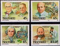Transkei 1993 Celebrities of Medicine Movement Set Fine Mint