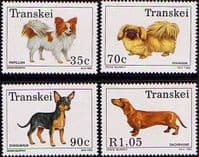 Transkei 1993 Dogs Set Fine Mint