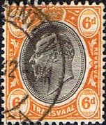 Transvaal 1904 SG 266 King Edward VII Head Fine Used