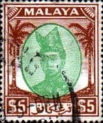 Trengganu 1949 Sultan Ismail SG 87 Fine Used