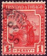 Trinidad and Tobago 1913 Britannia SG 150 Fine Used