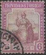 Trinidad and Tobago 1921 Britania SG 212 Fine Used