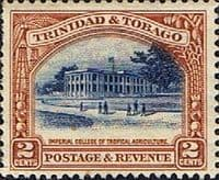 Trinidad and Tobago 1935 First Decimal SG 231 Imperial College Fine Mint