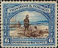 Trinidad and Tobago 1935 First Decimal SG 233 Discovery of Lake Asphalt Fine Used