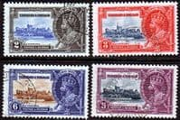 Trinidad and Tobago 1935 King George V Silver Jubilee Set Fine Used