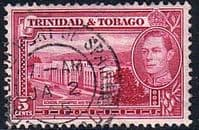 Trinidad and Tobago 1938 SG 249b Post Office Fine Used