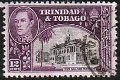 Trinidad and Tobago 1938 SG 252a Town Hall Fine Used