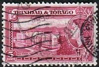 Trinidad and Tobago 1953 SG 271 Post Office and Treasury Fine Used