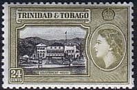 Trinidad and Tobago 1953 SG 275 Government House Fine Mint