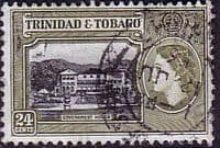 Trinidad and Tobago 1953 SG 275 Government House Fine Used