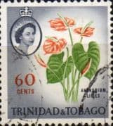 Trinidad and Tobago 1960 SG 295 Lillies Fine Used
