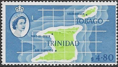 Postage Stamps Trinidad and Tobago 1960 SG 293 Pitch Lake Fine Used