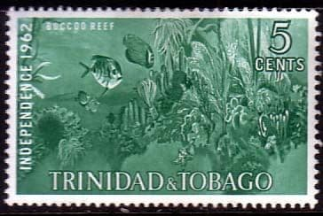 Trinidad and Tobago 1962 SG 300 Independence Bucco Reef Fine Mint