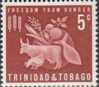 Trinidad and Tobago 1963 Freedom from Hunger SG 305 Fine Mint