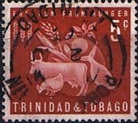 Trinidad and Tobago 1963 Freedom from Hunger SG 305 Fine Used