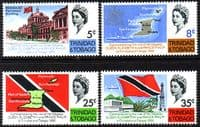 Trinidad and Tobago 1966 Caribbian Royal Visit Set Fine Mint