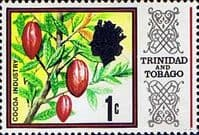 Trinidad and Tobago 1969 SG 339 Cocoa Beans Fine Mint