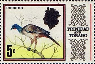 Trinidad and Tobago Stamps 1969 SG 341 Bird Rufous-vented Chachalaca
