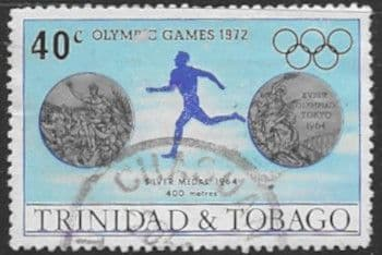 Trinidad and Tobago 1972 Olympic Games SG 425 Fine Used