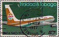 Trinidad and Tobago 1975 British West Indian Airways SG 463 Fine Used