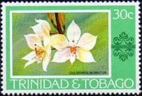 Trinidad and Tobago 1976 Orchids SG 487 Fine Mint