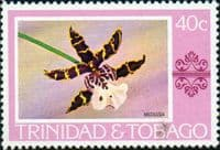Trinidad and Tobago 1976 Orchids SG 489 Fine Mint