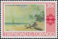 Trinidad and Tobago 1976 Paintings SG 488 Fine Mint