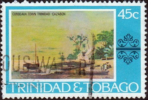 Trinidad and Tobago 1976 Paintings SG 490 Fine Used