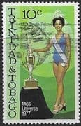 Trinidad and Tobago 1978 Miss Universe SG 517 Fine Used