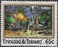 Trinidad and Tobago 1982 Folklore Local Spirits and Demons SG  611 Fine Used