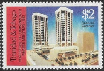 Trinidad and Tobago 1983 Conference of Commonwealth Finance Ministers Fine Used